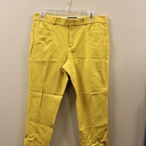 Yellow Banana Republic Jackson Pants
